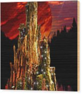 Elfen Conclave Wood Print