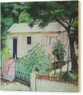 Elida House Wood Print