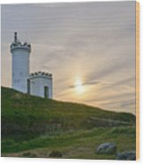 Elie Lighthouse. Late Afternoon. Wood Print