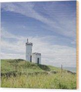 Elie Lighthouse Wood Print