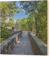 Eliot Memorial Bridge Wood Print