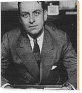 Eliot Ness 1903-1957, As Treasury Wood Print