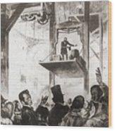 Elisha Graves Otis 1811-1861 Wood Print