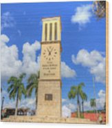 Eliza James-mcbean Clock Tower Wood Print