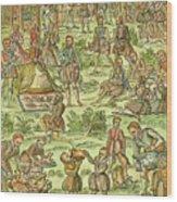Elizabeth I, 1533-1603 Wood Print
