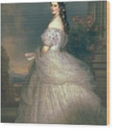 Elizabeth Of Bavaria Wood Print
