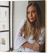 Elizabeth Olsen Wood Print