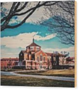 Elizabeth Seton Shrine Wood Print