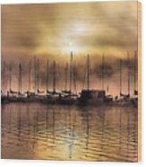 Elk Lake Morning  Wood Print
