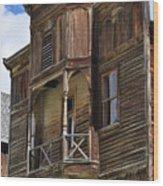 Elkhorn Fraternity Hall Wood Print
