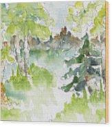 Elkridge Greens Wood Print