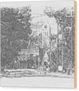 Ellaville, Ga - 1 Wood Print