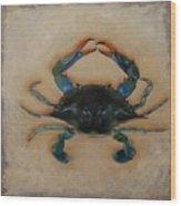 Ellen's Crab Wood Print