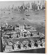 Ellis Island, 1933 Wood Print