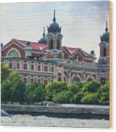 Ellis Island Wood Print