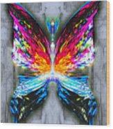 Elm Sparklefrost Wood Print