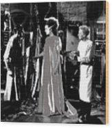 Elsa Lanchester Bride Of Frankenstein 4 1935-2015 Wood Print