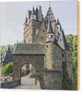 Eltz Castle Wood Print