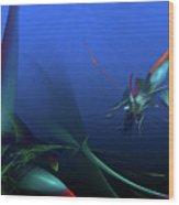 Elusive North Western Spiny Fish Wood Print