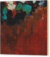 Elusive Panel 2 Wood Print by Vickie Warner