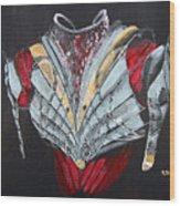 Elven Armor Wood Print