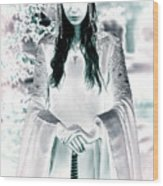 Elven Princess Wood Print
