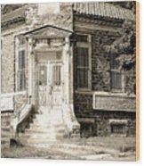 Elverson National Bank Wood Print