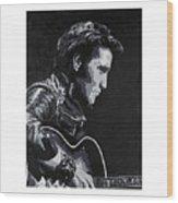Elvis 1963 Comeback Show Wood Print