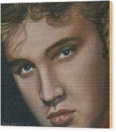 Elvis 24 1955 Wood Print