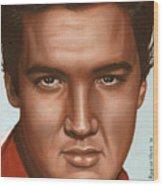 Elvis 24 1958 Wood Print