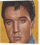 Elvis 24 1965 Wood Print