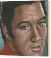Elvis 24 1968 Wood Print