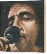 Elvis 24 1972 Wood Print