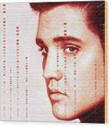 Elvis Preslely Wood Print
