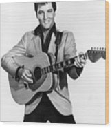 Elvis Presley, C. Mid-1960s Wood Print by Everett