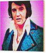 Elvis Presley The King 20160117 Wood Print