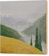 Elwa Mist Wood Print