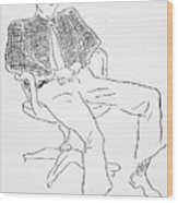 Elwyn Brooks White Wood Print