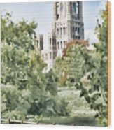 Ely Cathedral Wood Print