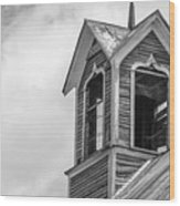 Ely Vermont Barn 1899 Barn Cupola Wood Print