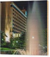 Embassy Suites Huntsville Wood Print