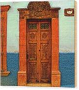 Embellished Puerta Wood Print