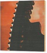 Ember's Revolution Wood Print