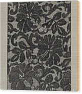 Embroidered Lace Wood Print