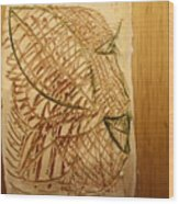 Emerald - Tile Wood Print