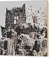 Emerald Bay Watchtower Wood Print