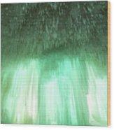 Emerald Cave - Grand Island On Lake Superior Wood Print