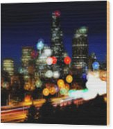 Emerald City Color Spots C060 Wood Print