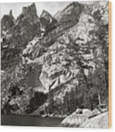 Emerald Lake Colorado Wood Print