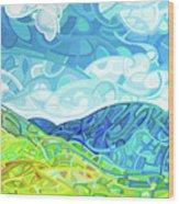 Emerald Moments Wood Print
